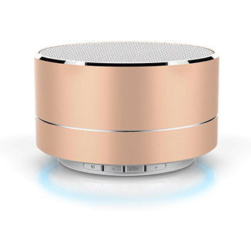 Gold Mini Bluetooth                    Speaker