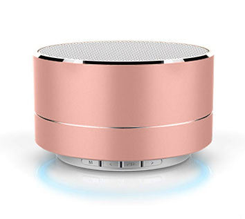 Rose Gold Mini Bluetooth Speaker