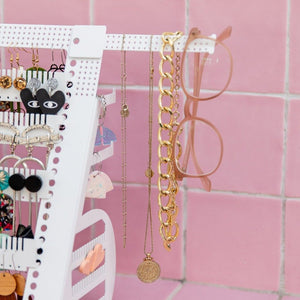 Add-On Side Accessory Bars - Adjustable Earring Holders