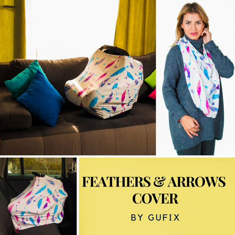 Premium Gufix Cover - Feathers and Arrows