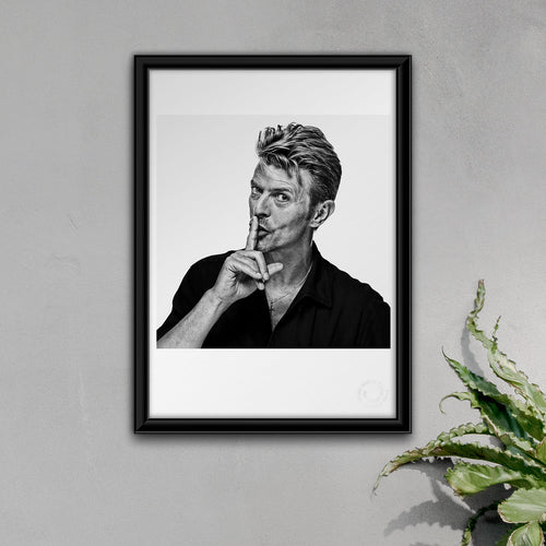 A3 David Bowie Fine Art Open Edition Print #02