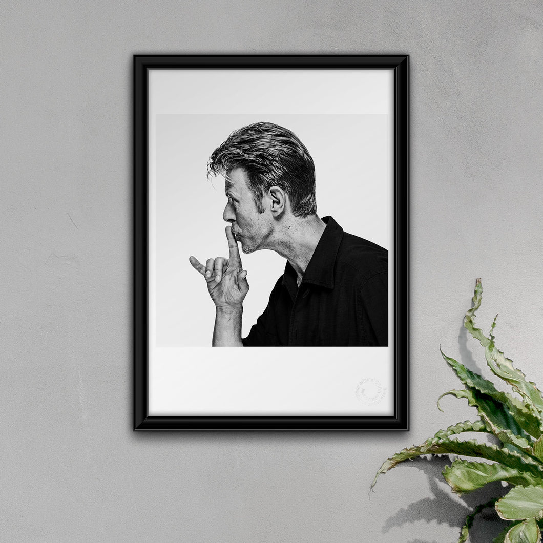 A3 David Bowie Fine Art Open Edition Print #05