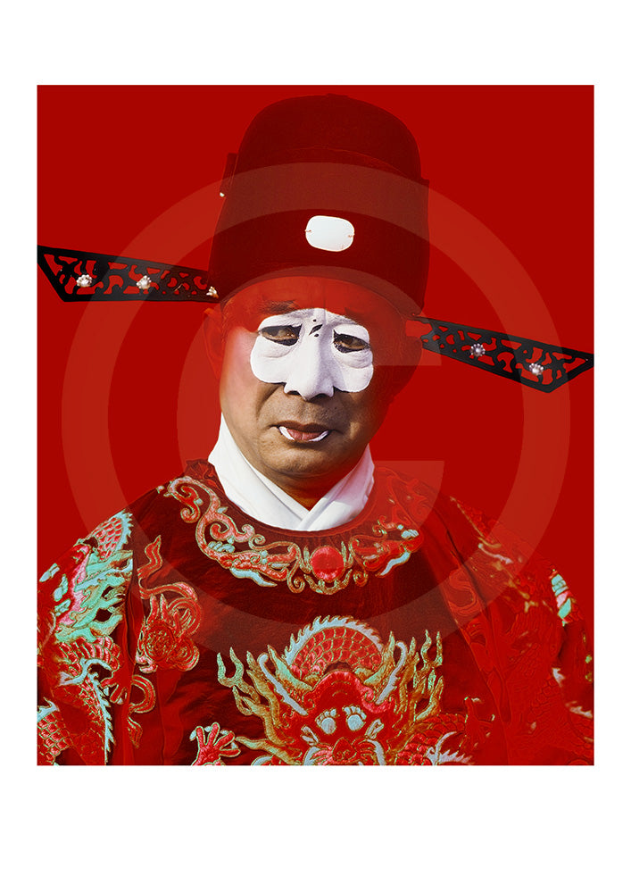 Peking Opera Fine Art Open Edition Print #07