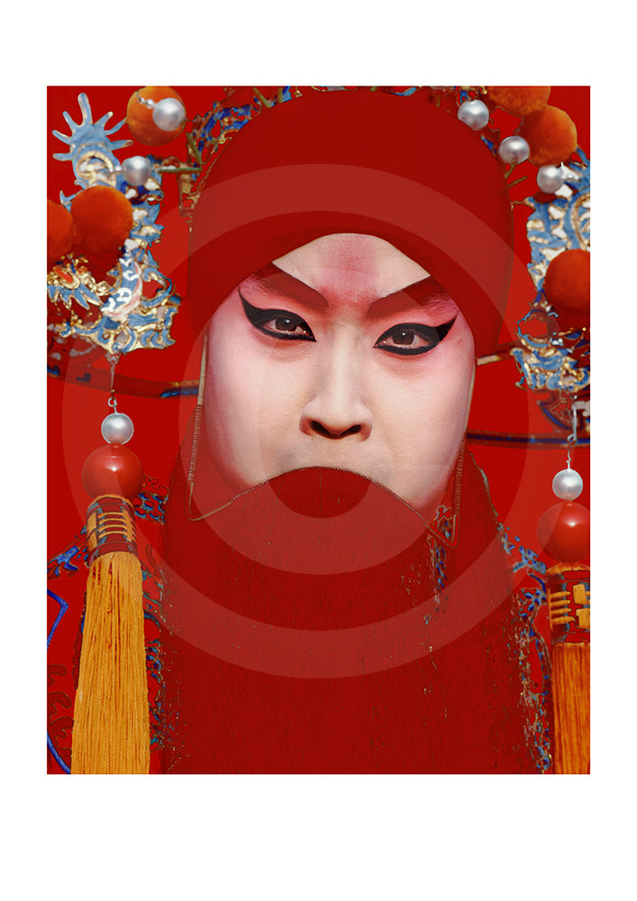 Peking Opera Fine Art Open Edition Print #10