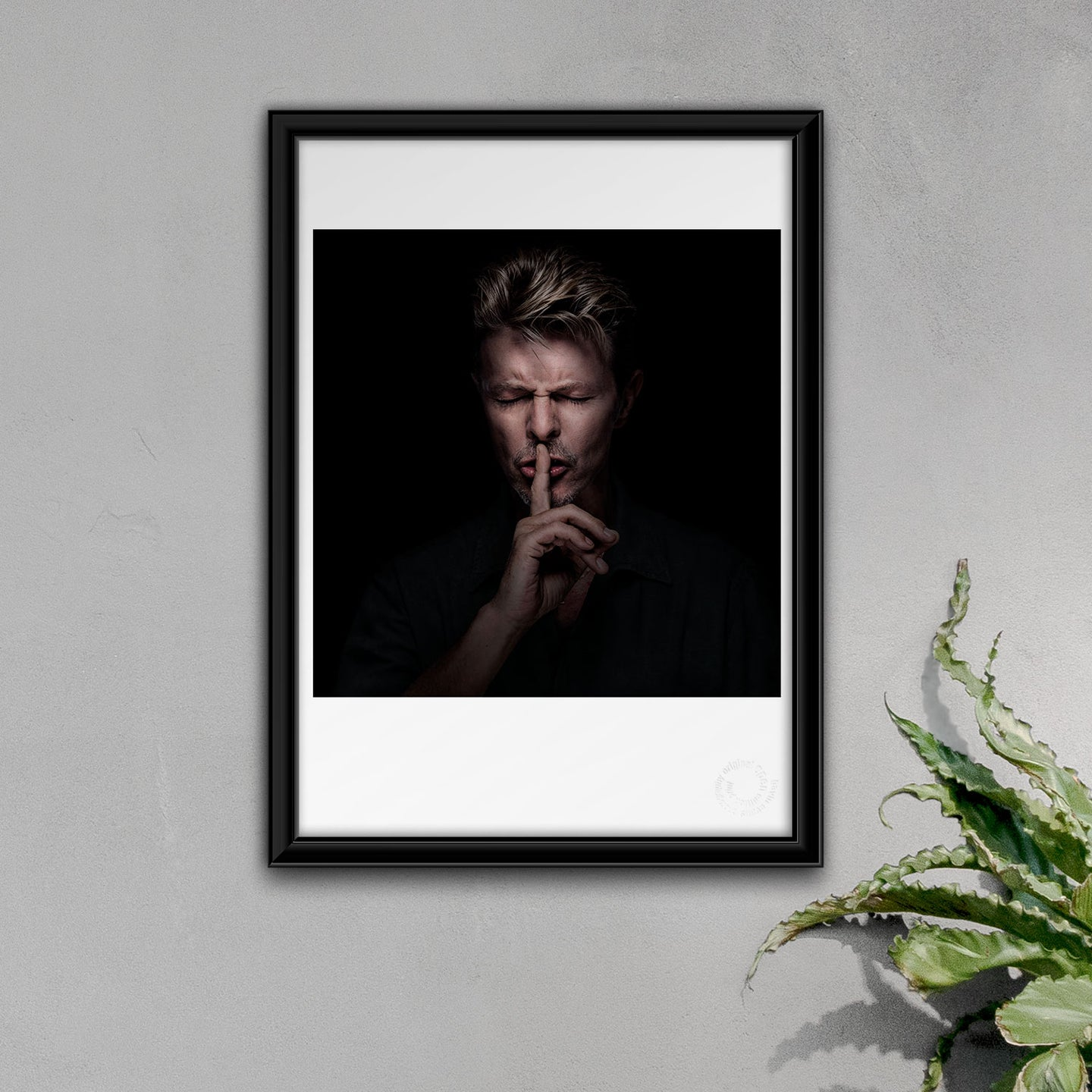 A3 David Bowie Fine Art Open Edition Print #11
