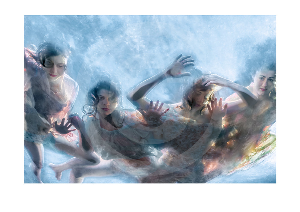 1in100 Collectors Signed Ltd Edition Print- Sirens #12
