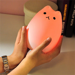 Cat LED Touch Night Light