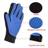 Pet Grooming Glove with Gentle Massage - for Dog and Cat