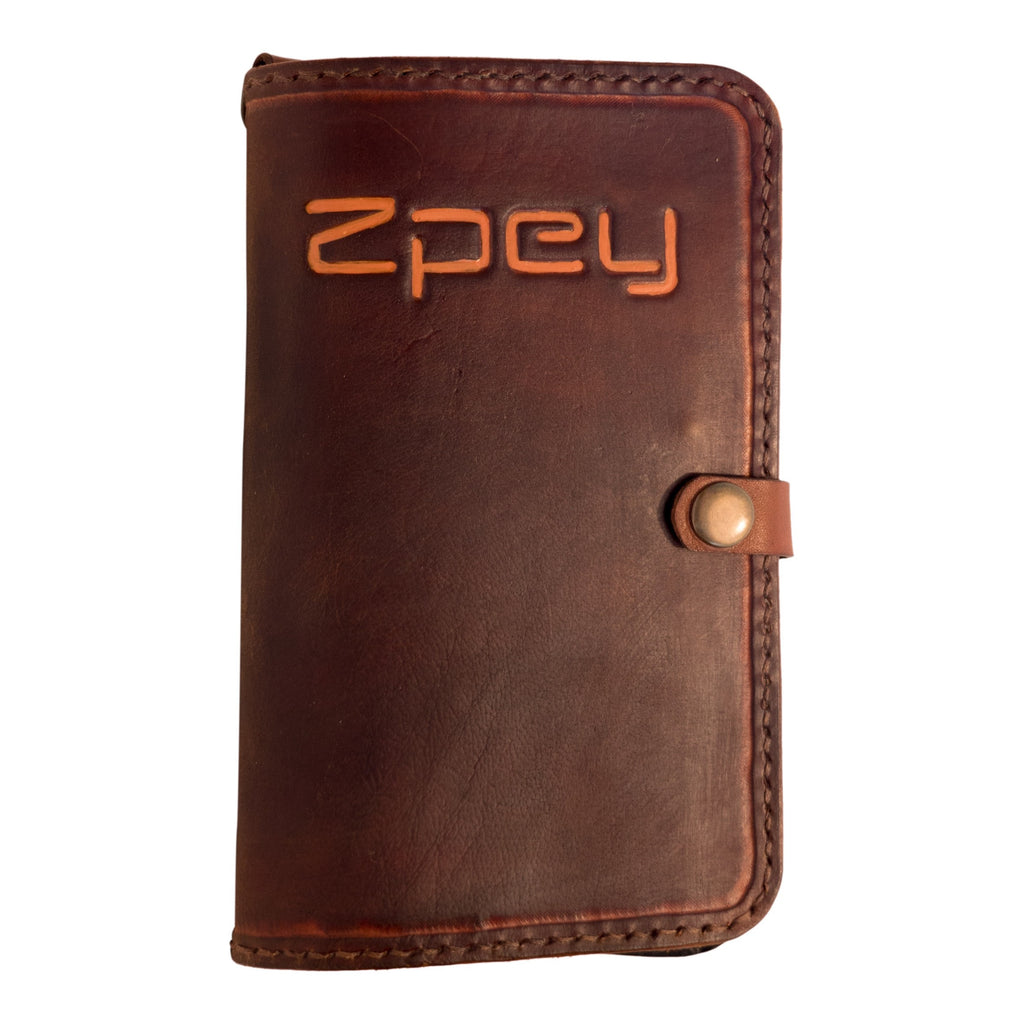 Flywallet Leather, handmade