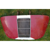 Porsche 356 A B T5 Coupe Engine Lid with grille and hinges Original