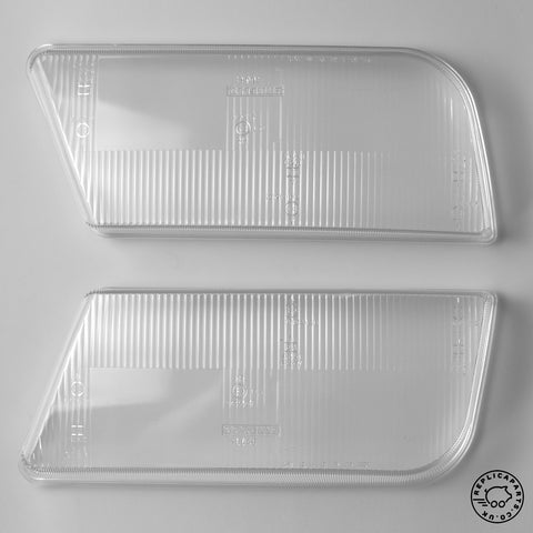 Ferrari 348 fog light lenses Carello 16 640 / 16 641 OEM ReplicaParts.co.uk
