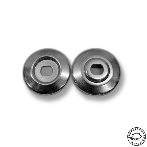 Porsche 356 Early 912 Generator Pulley Set Correct Finish Replaces 53909316 ReplicaParts.co.uk