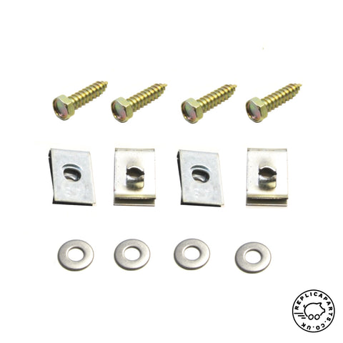 Porsche 356 B T6 1962-1963 Fuel Tank Flange Kit One Per Car Replaces 64420100206 ReplicaParts.co.uk