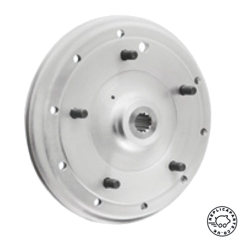 Porsche 356 A Brake drum Rear new OEM factory part 64433106112 ReplicaParts.co.uk