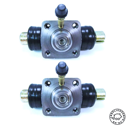 Porsche 356 All 1950-65 Drum Brake Wheel Cylinders Rear x2 Replaces 64435251301 69535251301 ReplicaParts.co.uk