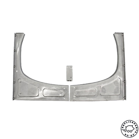 Porsche 356 A 1956-1959 Engine Shelf Repair Panels with Weld Nuts 64450108301 ReplicaParts.co.uk