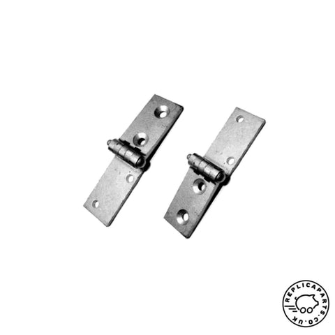 Porsche 356 Speedster 1954-1959 Seat Hinge Set Pair Replaces 644521351SET ReplicaParts.co.uk