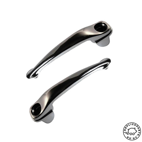 Porsche 356A T2 B C Door Handle x2 Replaces 64453106101 ReplicaParts.co.uk