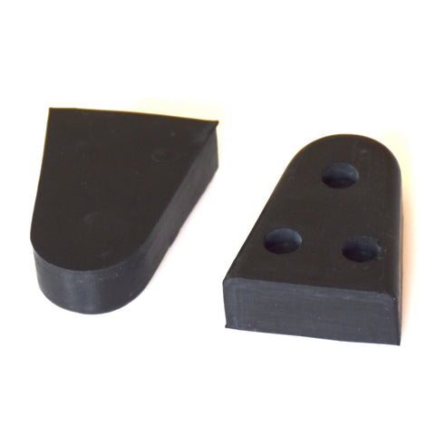 Porsche 356 Pre A & 356 A Rubber door wedges flat 50mm x2 Replaces 64453175100