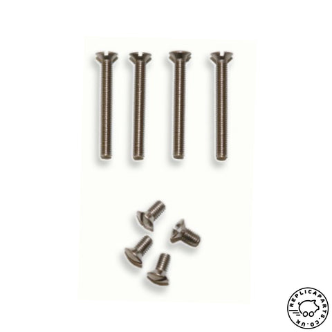 Porsche 356 A B C Cabriolet Door Frame Stainless Screw Set Replaces 64454100500 ReplicaParts.co.uk