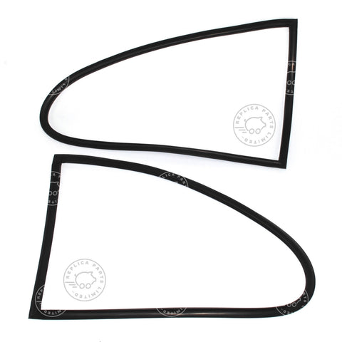 Porsche 356 Quarter window seals (on body) L&R 64454390300 64454390400