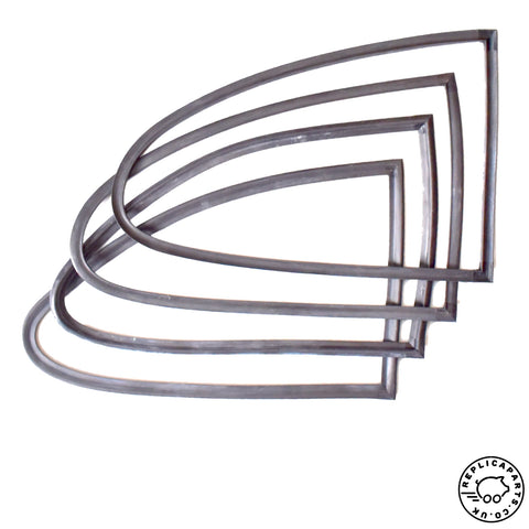 Porsche 356 Coupe All Quarter Window Seals Kit for Frame and Body ReplicaParts.co.uk
