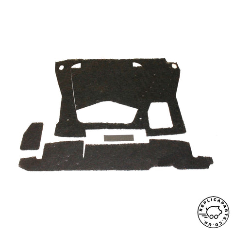 Porsche 356 B T6 C 1962-1965 Front Trunk Boot Sound Insulation Kit 64455630000 ReplicaParts.co.uk