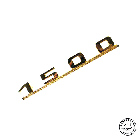 Porsche 356 pre-A A 1500 Emblem Gold Replaces 35658301 64458301 ReplicaParts.co.uk