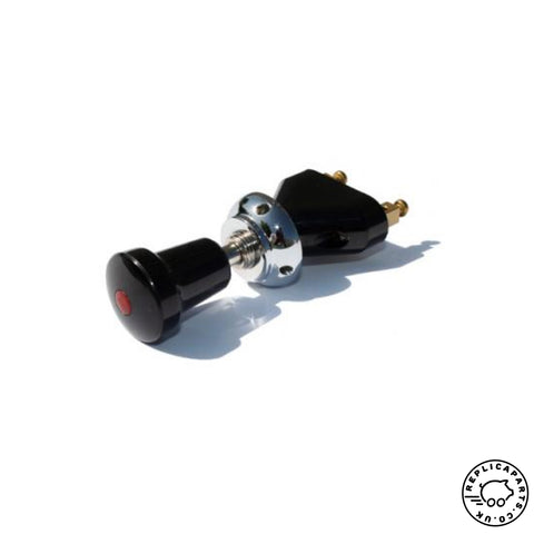 Porsche 356 All 911 912 Accessory Switch with red Indicator Lamp 64461350301 ReplicaParts.co.uk