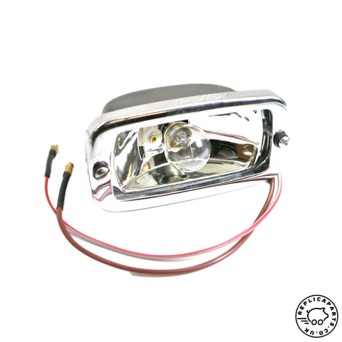 Porsche 356 B and 356 C Reverse Lens Base, Bezel and Bulb Replaces 64463163106