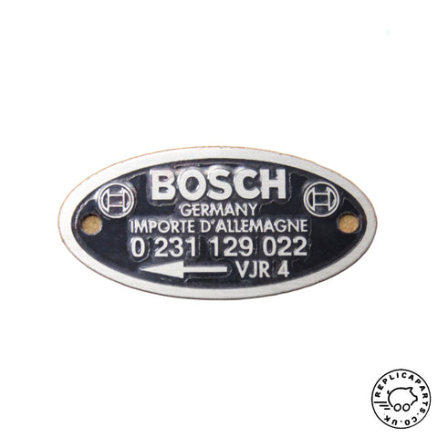 Porsche Distributor Plate Bosch '022' Replaces 64470160253 ReplicaParts.co.uk
