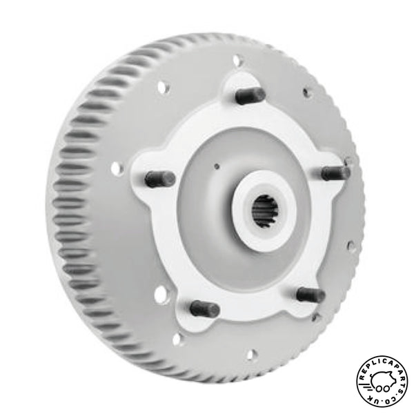 Porsche 356 B Brake drum Rear new OEM factory part 69533106101 ReplicaParts.co.uk