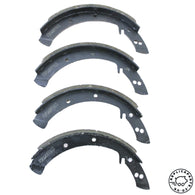 Porsche 356 pre A A B Brake Shoes Set New for front or rear 69535103300 ReplicaParts.co.uk