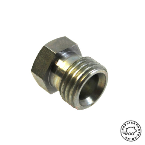 Porsche 356 B 1960-1963 Early Fuel Pump Inlet Fitting Replaces 90019300102 ReplicaParts.co.uk