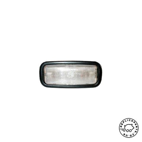 Porsche 911 912 930 1967-1989 Interior Light with Black Bezel 90163210128 ReplicaParts.co.uk