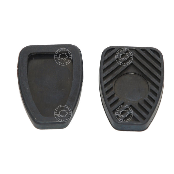 Porsche 356 911 912 930 914 Clutch and brake pedal pads Replaces 914.423.210.00