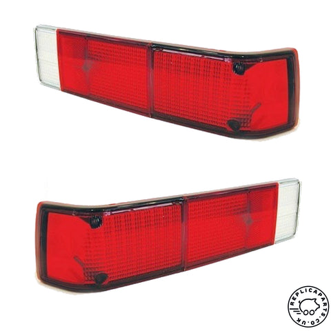 Porsche 914 Tail Light Lens Rear USA Red L&R Replaces 91463193911 91463194011 ReplicaParts.co.uk