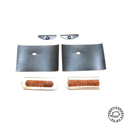 Porsche 914 1969-1971 Headlight Mechanism Brush Seal Set Replaces 91475018511B ReplicaParts.co.uk