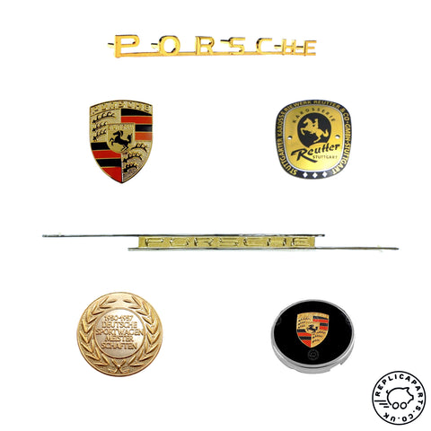 AutoVero Vintage Speedster - Emblem, Crest and fixings pack 1