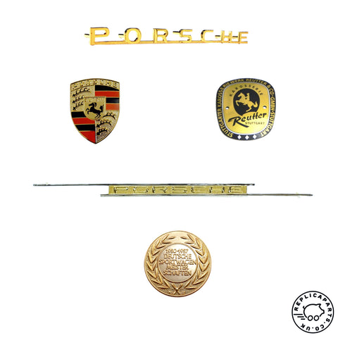 AutoVero Vintage Speedster - Emblem, Crest and fixings pack 2