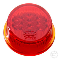VW Hassia K1564 oval rear light taillight glass lens for Beetle 1955 - 1961