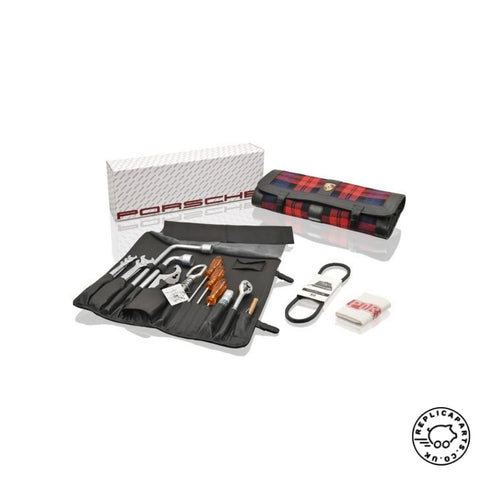 Porsche 911 1974-1982 G-Body Tool Kit with Tartan Bag Replaces PCG91172110 ReplicaParts.co.uk