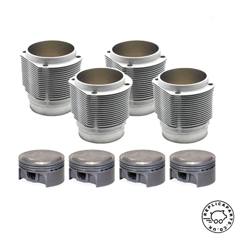 Porsche 356 All 912 1950-1969 1925cc Cylinder and Piston Set 91mm PS91-003N