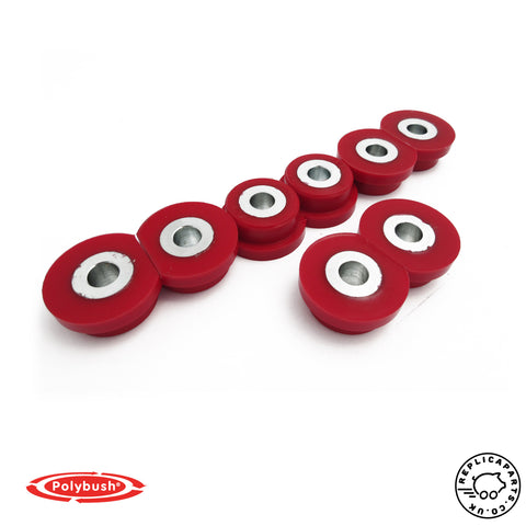 Porsche 911 996 1997-2006 Polyurethane Bush Set - Polybush Kit 42J ReplicaParts.co.uk