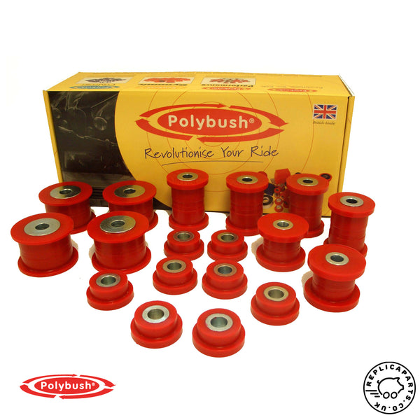 Porsche 911 996 1997-2006 Polyurethane Bush Set - Polybush Kit 118 ReplicaParts.co.uk