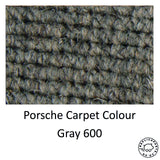 Porsche 356 C Coupe Square Weave Carpet Set Special Order Replaces 64455102300