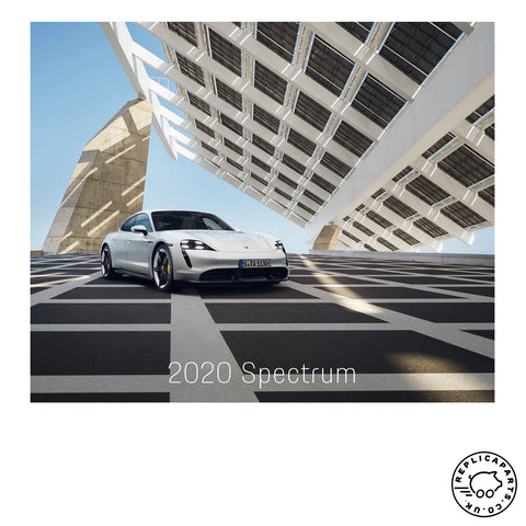 "Porsche Design Calendar 2020 ""Spectrum"" includes Collectors Coin WAP0920020L"