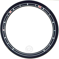 Porsche 356 Pre A 1950 to 1952 VEIGEL speedometer dial ring bezel sticker