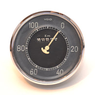 VW Beetle Early Speedometer VDO 100 Kmh Odometer Genuine Original Rare