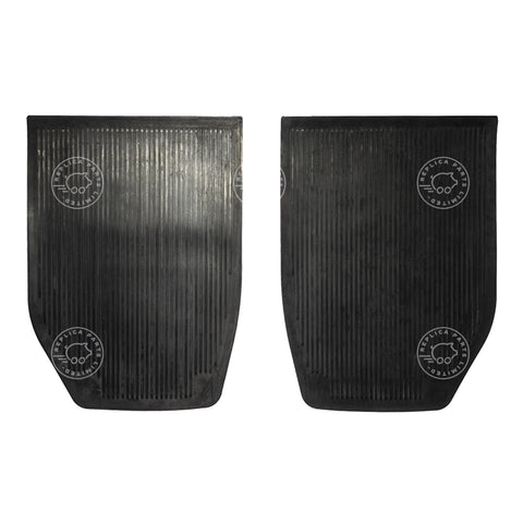 Porsche 911 912 (1965-1968) Rear rubber floor mats 90155112000 ReplicaParts.co.uk